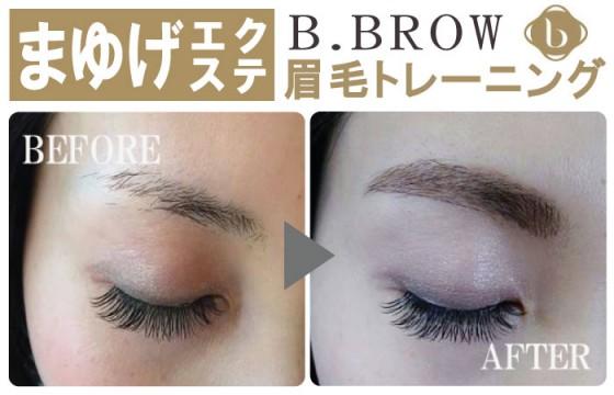 「眉毛エクステのパイオニアBLINKLASH」B.BROW(眉毛)トレーニング(1日)