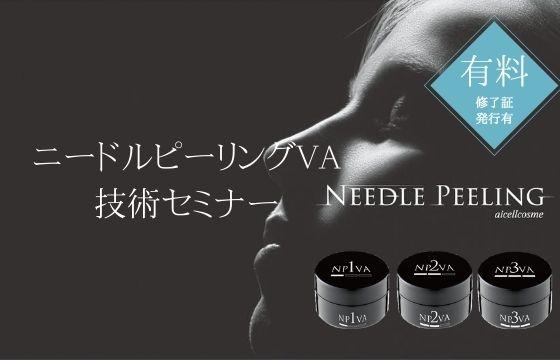 【有料】ニードルピーリングVA技術セミナー